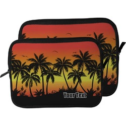 Tropical Sunset Laptop Sleeve / Case (Personalized)
