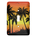 Tropical Sunset Light Switch Covers (Personalized)