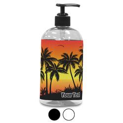 Tropical Sunset Plastic Soap / Lotion Dispenser (Personalized)