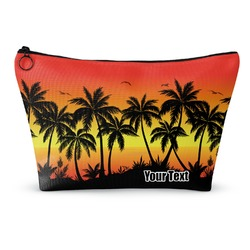 Tropical Sunset Makeup Bags (Personalized)
