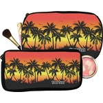 Tropical Sunset Makeup / Cosmetic Bag (Personalized)