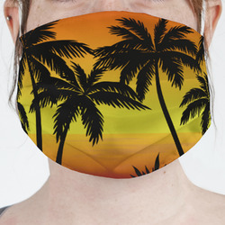 Tropical Sunset Face Mask Cover (Personalized)