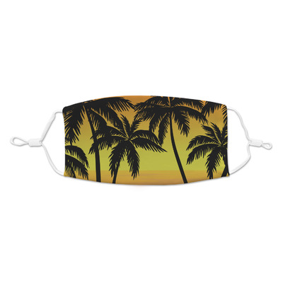 Tropical Sunset Kid's Cloth Face Mask (Personalized)