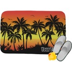 Tropical Sunset Memory Foam Bath Mat (Personalized)