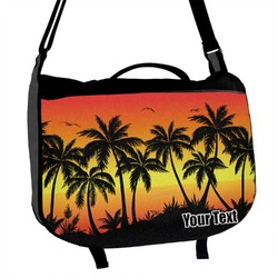 Tropical Sunset Messenger Bag (Personalized)
