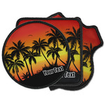 Tropical Sunset Iron on Patches (Personalized)