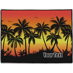 Tropical Sunset Door Mat (Personalized)