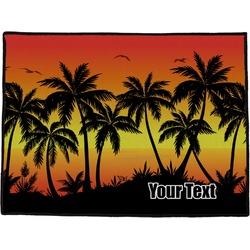 Tropical Sunset Door Mat (Personalized)