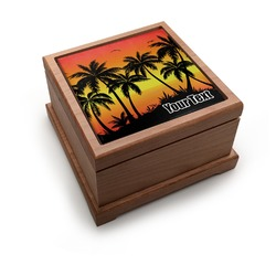 Tropical Sunset Pet Urn (Personalized)