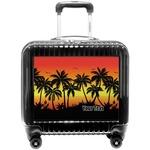 Tropical Sunset Pilot / Flight Suitcase (Personalized)