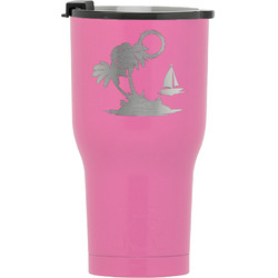 Tropical Sunset RTIC Tumbler - Pink (Personalized)