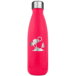 Tropical Sunset RTIC Bottle - 17 oz. Pink (Personalized)