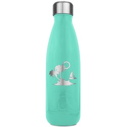 Tropical Sunset RTIC Bottle - Teal (Personalized)