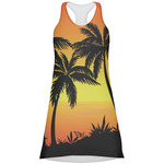 Tropical Sunset Racerback Dress (Personalized)