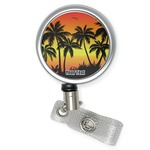 Tropical Sunset Retractable Badge Reel (Personalized)