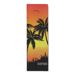 Tropical Sunset Runner Rug - 3.66'x8' (Personalized)