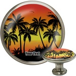 Tropical Sunset Cabinet Knobs (Personalized)
