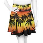 Tropical Sunset Skater Skirt (Personalized)
