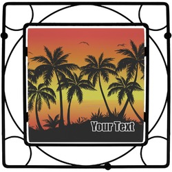 Tropical Sunset Trivet (Personalized)