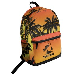 Tropical Sunset Student Backpack (Personalized)