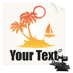 Tropical Sunset Sublimation Transfer (Personalized)