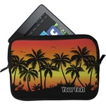 Tropical Sunset Tablet Case / Sleeve (Personalized)