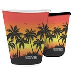 Tropical Sunset Waste Basket (Personalized)