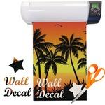 Tropical Sunset Vinyl Sheet (Re-position-able)