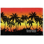 Tropical Sunset Woven Mat (Personalized)