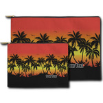Tropical Sunset Zipper Pouch (Personalized)