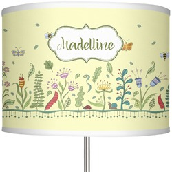 "Nature Inspired 13"" Drum Lamp Shade (Personalized)"