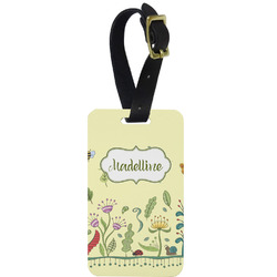 Nature Inspired Aluminum Luggage Tag (Personalized)
