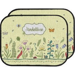 Nature Inspired Car Floor Mats (Back Seat) (Personalized)