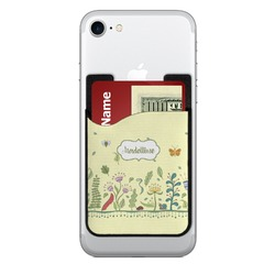 Nature Inspired 2-in-1 Cell Phone Credit Card Holder & Screen Cleaner (Personalized)