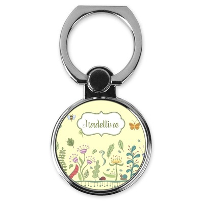 Nature Inspired Cell Phone Ring Stand & Holder (Personalized)