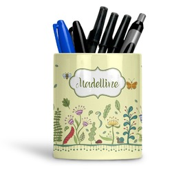 Nature Inspired Ceramic Pen Holder