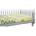 Nature Inspired Crib Fitted Sheet (Personalized)