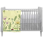 Nature Inspired Crib Comforter / Quilt (Personalized)