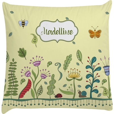Nature Inspired Decorative Pillow Case (Personalized)