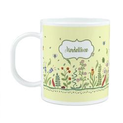 Nature Inspired Plastic Kids Mug (Personalized)
