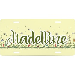 Nature Inspired Front License Plate (Personalized)