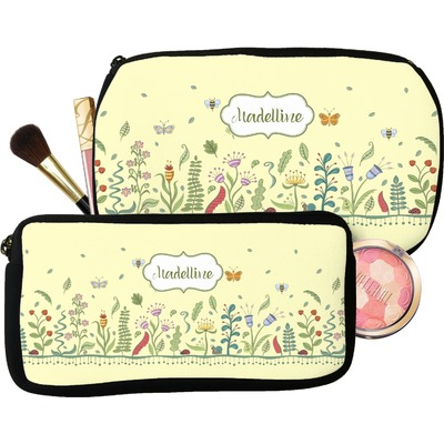 Nature Inspired Makeup / Cosmetic Bag (Personalized)