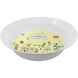 Nature Inspired Melamine Bowls (Personalized)