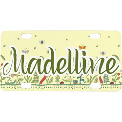 Nature Inspired Mini / Bicycle License Plate (Personalized)