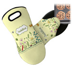Nature Inspired Neoprene Oven Mitt (Personalized)