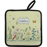 Nature Inspired Pot Holder w/ Name or Text