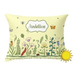 Nature Inspired Outdoor Throw Pillow (Rectangular) (Personalized)
