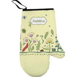 Nature Inspired Oven Mitt (Personalized)