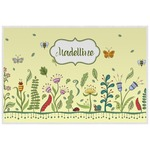 Nature Inspired Laminated Placemat w/ Name or Text
