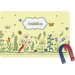 Nature Inspired Rectangular Fridge Magnet (Personalized)